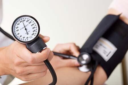 Высокое артериальное давление